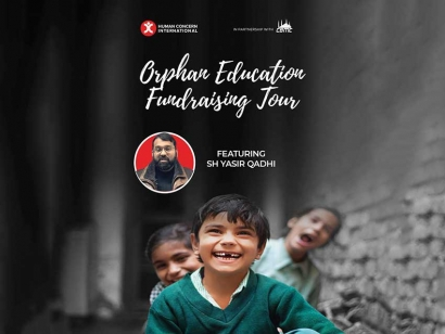 Shaikh Yasir Qadhi's Orphan Benefit Tour with Human Concern International Comes To Toronto, Ottawa This Weekend