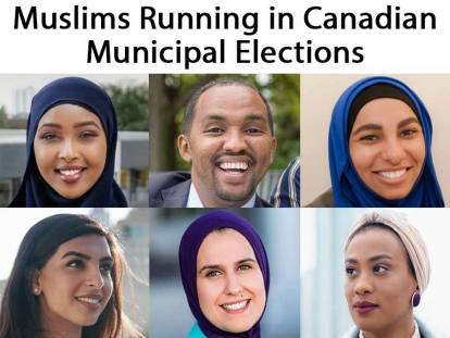 Learn about some of the Muslims running in Canadian Municipal Elections