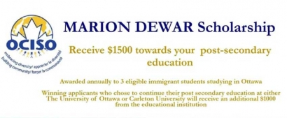 Ottawa Community Immigrant Services Organization (OCISO) Marion Dewar Scholarship Fund