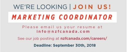 National Zakat Foundation Canada Marketing Coordinator