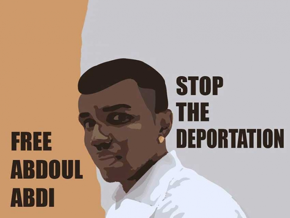 Family and activists from across Canada fought hard to stop the deportation of Abdoul Abdi