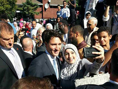 Trudeau Visits Ottawa's Oldest Mosque for Eid al Adha