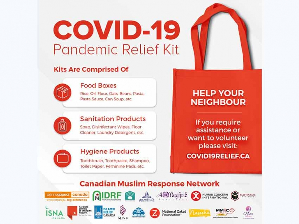Canadian Muslim Charities And Organizations Unite To Support Vulnerable Canadians Impacted By The Covid 19 Crisis