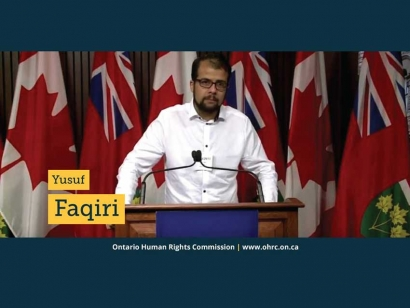 Yusuf Faqiri, the brother of Soleiman Faqiri, discusses his brother's case at the Ontario Human Rights Commission.