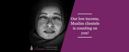Donate to Keep the Amal Center for Women Open