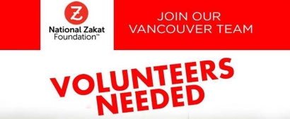 Volunteer with the National Zakat Foundation Canada in Vancouver
