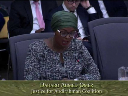 Justice for Abdirahman Coalition Makes Statement Before The Standing Committee on Justice Policy at the Ontario Legislature