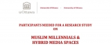 Participants Needed: Muslim Millennials and Hybrid Media Spaces