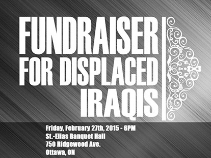 Check Out The Fundraiser for Displaced Iraqis This Friday Feb. 27