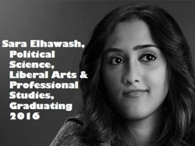 So You Want To Study Political Science? Sara Elhawash