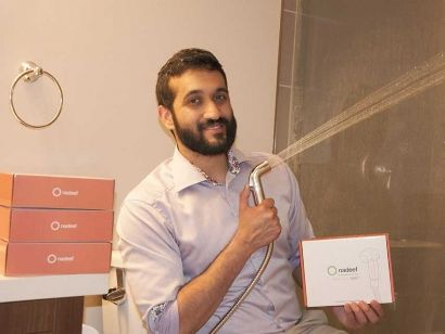 Ahmad Iqbal is the founder of Nadeef Bidet, a company which offers a more hygienic and environmentally friendly alternative to toilet paper.