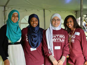 Muslim Students' Association Offers Halal Frosh Week