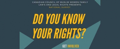 Canadian Council of Muslim Women Family Law and Legal Rights Survey
