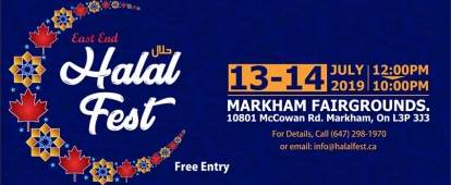 Book a Booth at the East End Halal Fest 2019
