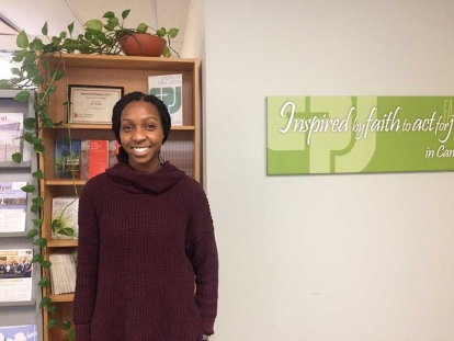 Nigerian Christian Canadian Deborah Mebude discusses the global refugee crisis and her internship with Canadian Christian NGO Citizens for Public Justice.
