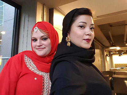 Stephanie Renee and Eren Cervantes-Altamirano attended iftars and prayers across Ottawa-Gatineau during Ramadan