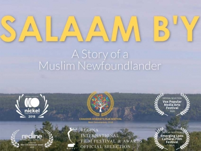 Check out Salaam B'y - A Story of a Muslim Newfoundlander at MuslimFest