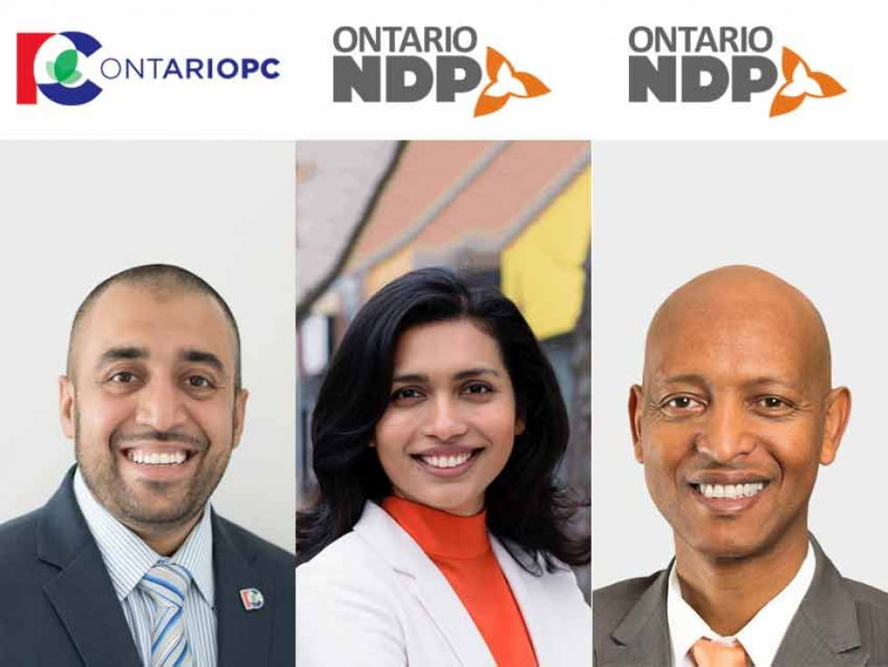 Muslim Canadians Who Won In the Ontario Provincial Election