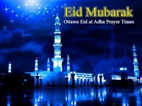 Ottawa Eid al Adha Prayer Times & Locations