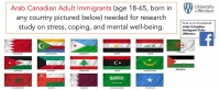 Well-Being and Mental Health of Arab-Canadian Immigrants Study