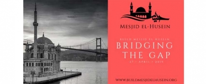 Sponsor the Mesjid El Husein Bridging the Gap Fundraiser