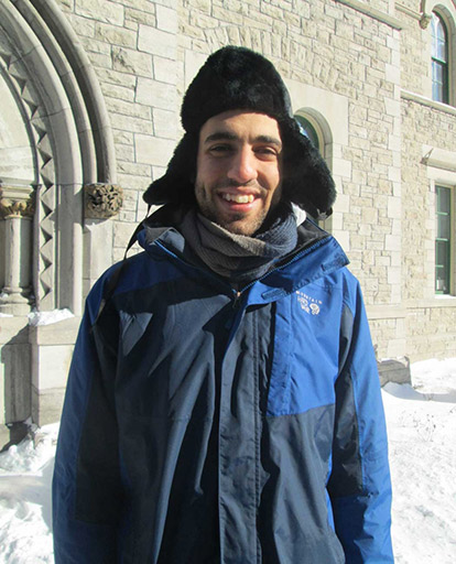 Mohammad Mousa attended the Canadian Muslims for Peace gathering in Ottawa on January 31st.