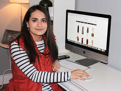 Salgai Tooryalai is the founder of SANAA Women's Fashion, an online boutique based in Ottawa.