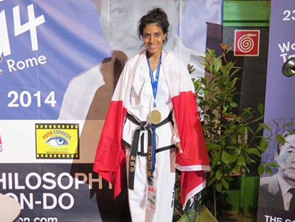 Ottawa Taekwondo Star Samah Syed Set for a Bright Future