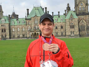 Ottawa's Bachar Awneh Wins Bronze at the Special Olympics Summer Games