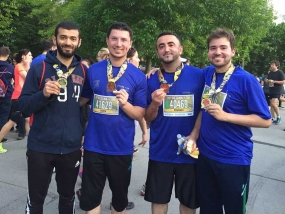 Ottawa Race Weekend Runners: Haissam Dahan-This Out of Shape Dad Still Has It