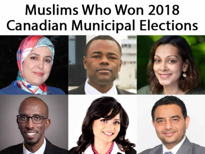 Muslims Who Won in 2018 Canadian Municipal Elections