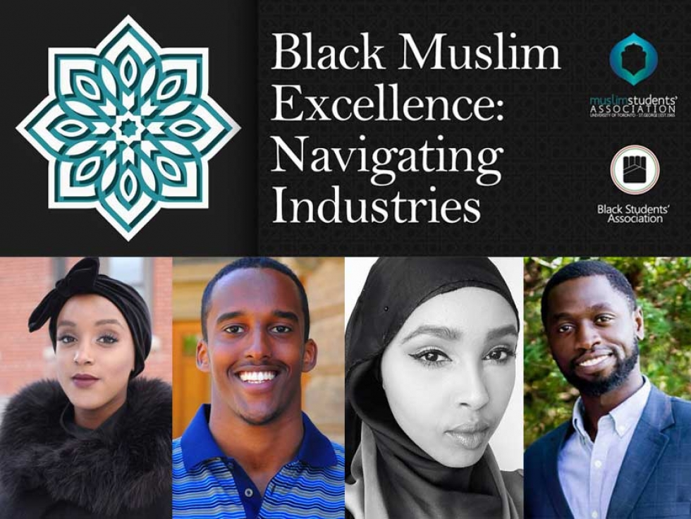 Check out Black Muslim Excellence: Navigating Industries at the University of Toronto on February 14 to hear from Black Muslim Canadians working in the fields of journalism, law, and technology.