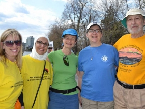 Walking for Affordable Housing: The Multifaith Housing Initiative's Annual Tulipathon