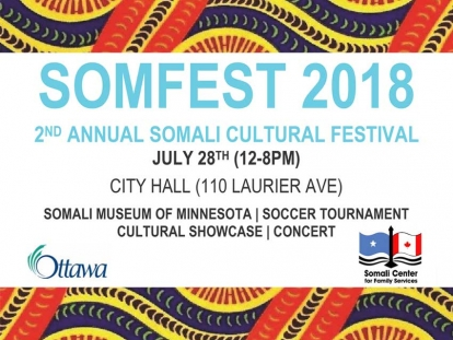 Check Out the Somali Cultural Festival at Ottawa City Hall This Saturday
