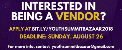 Windsor Muslim Youth Summit is looking for Bazaar Vendors