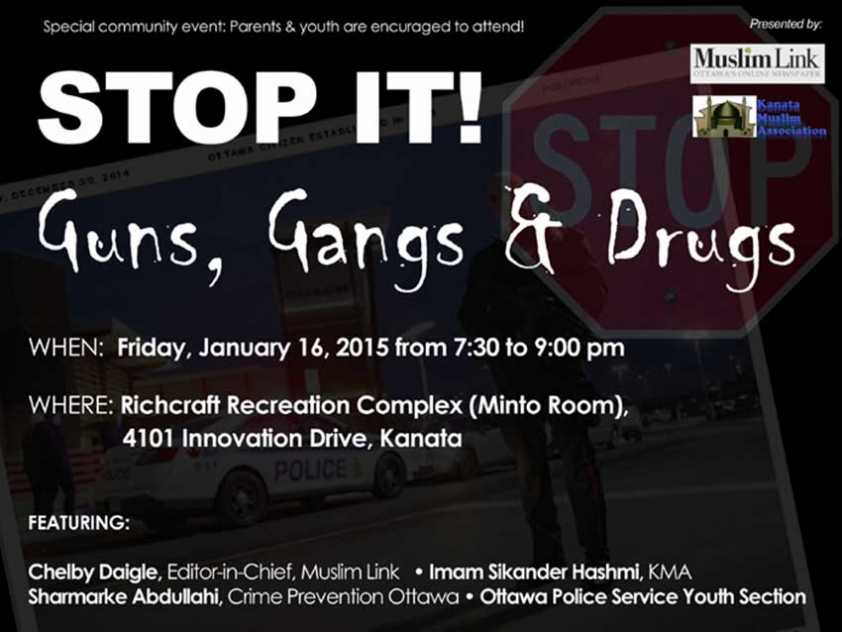 Information Session on Muslim Youth and Gangs
