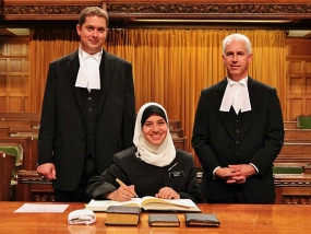 Hijabi on Parliament Hill My Experience as a Page in the House of Commons
