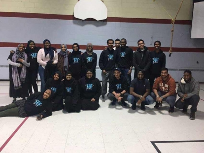 The team from last year's Somali Education Fund Career Fair in Ottawa, Ontario.