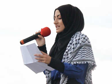 Freedom Writer Haneen Al-Hassoun reflects on the hard work behind the art of Spoken Word