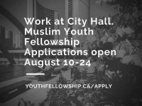 Apply for the Muslim Youth Fellowship