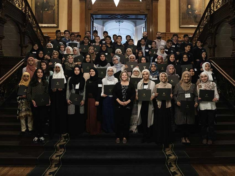 Ontario NDP hosts Muslim youth for Islamic Heritage Month