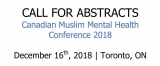 Call for Abstracts: Canadian Muslim Mental Health Conference