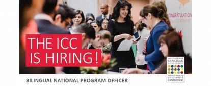 Institute for Canadian Citizenship Bilingual National Program Officer (French/English)