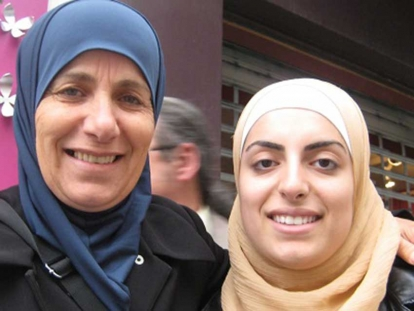 "Sonia El Birani with her daughter, Maha El Birani, who is featured in the documentary ""Fatal Silence""."