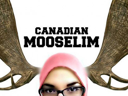 The logo for Aicha Lasfar's new blog Canadian Mooselim