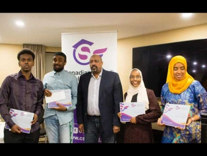 Scholarship Winners Honoured by the Canadian Somali Scholarship Fund at their Third Annual Ceremony in Ottawa