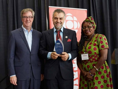 Mohd Jamal Alsharif Honoured with 2018 Welcoming Ottawa Ambassador Award.